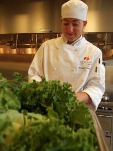 Cascade Culinary Student