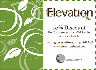 Elevation Discount Card